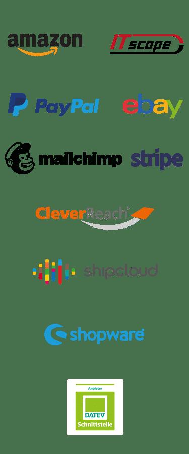 Integrazioni e add-on per weclapp
