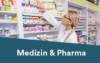Branche Medizin und Pharma
