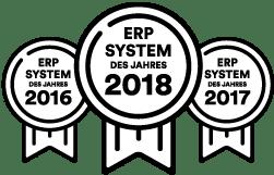 ERP System des Jahres 2016-17-18
