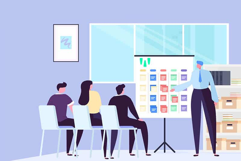 Projektmanagement-teams weclapp