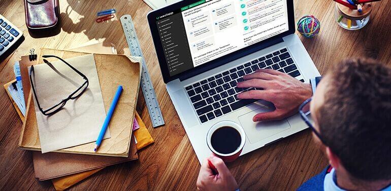 Unternehmen handeln Blog