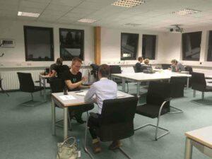 Usability Testessen Gruppen