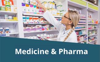 medicine & pharma industry