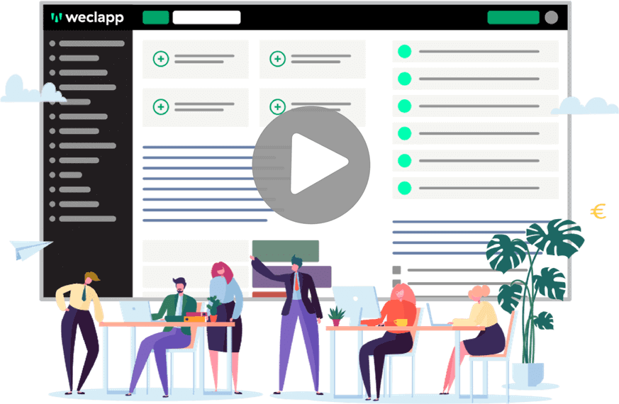 weclapp Teamwork Video Cover