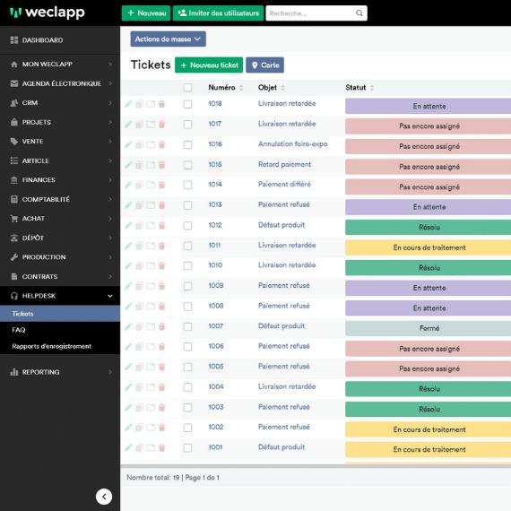 logiciel helpdesk basé sur le cloud